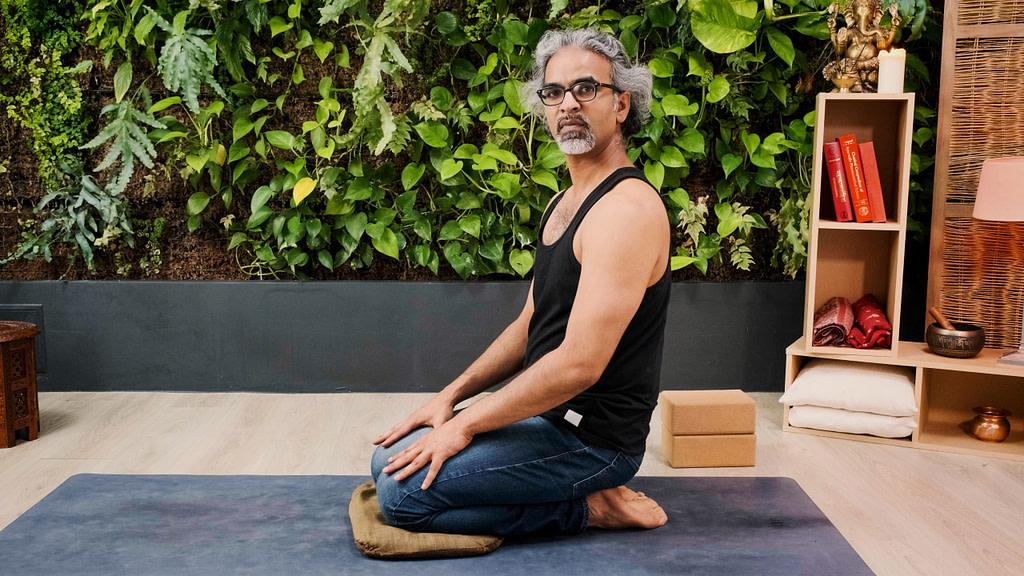Inconfort dans vajrasana dans la méditation