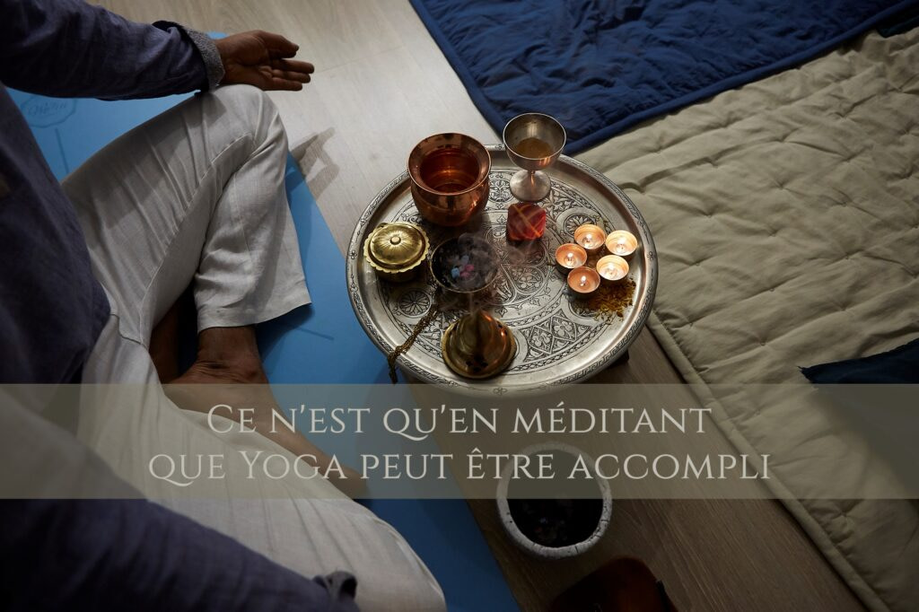 importance de méditation en yoga