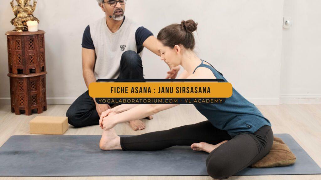 Fiche Asana - Janu Sirsasana