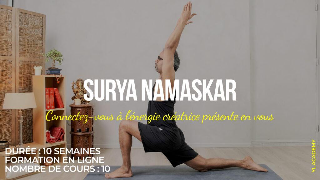 Formation Surya Namaskar