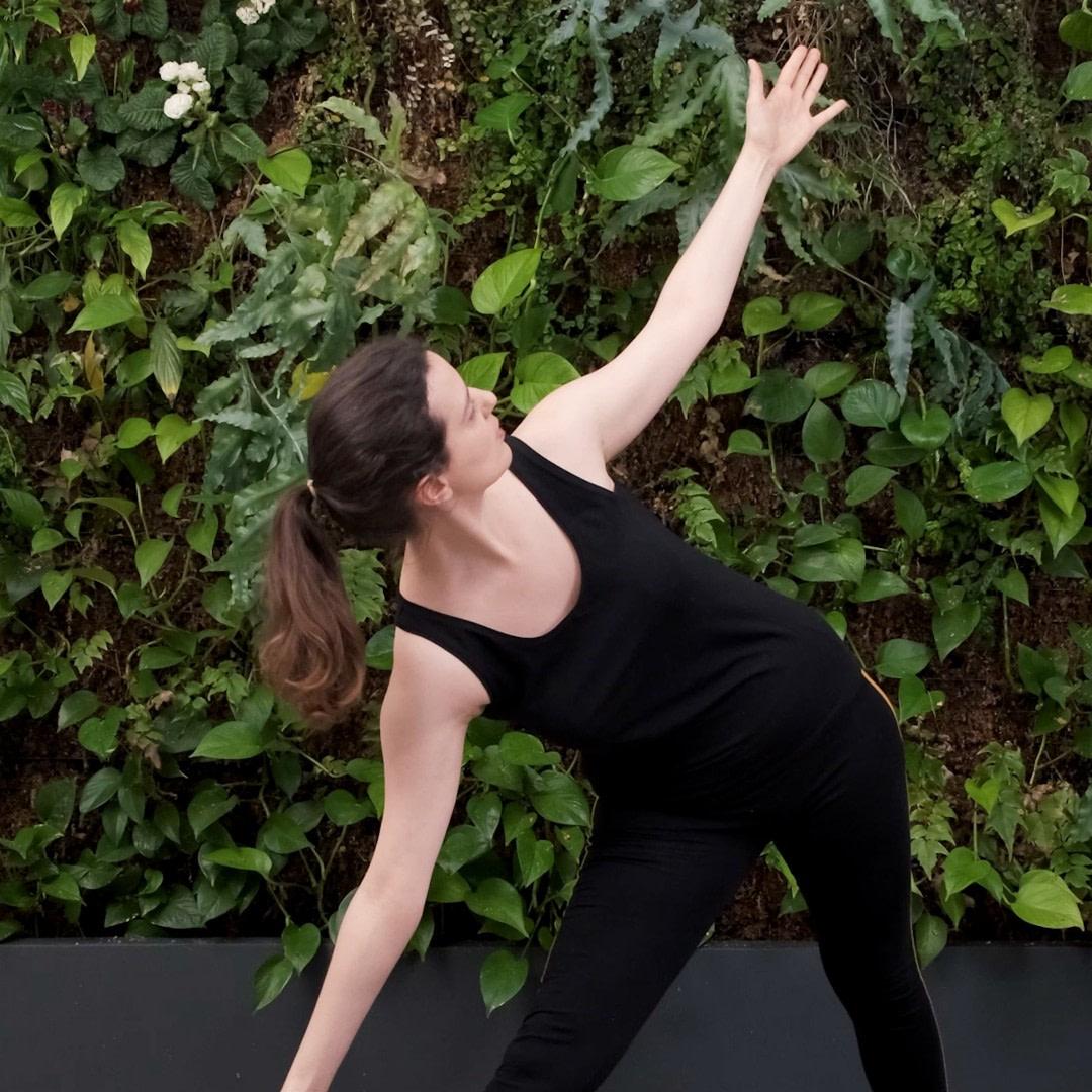 Posture de triangle pour développer la concentration